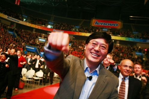 Yang Yuanqing, chairman and CEO di Lenovo