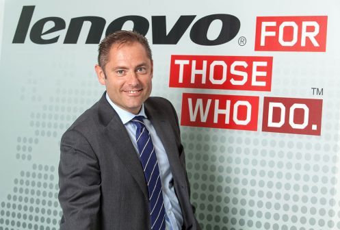 Mirko Poggi, amministratore delegato di Lenovo Italia