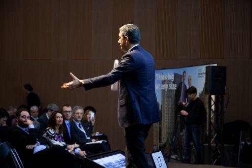 Milano 21 gennaio 2016, Mudec.Le innovazioni digitali a portata di impresa.Stefano Venturi, Corporate VP e Amministratore Delegato di Hewlett Packard Italiana