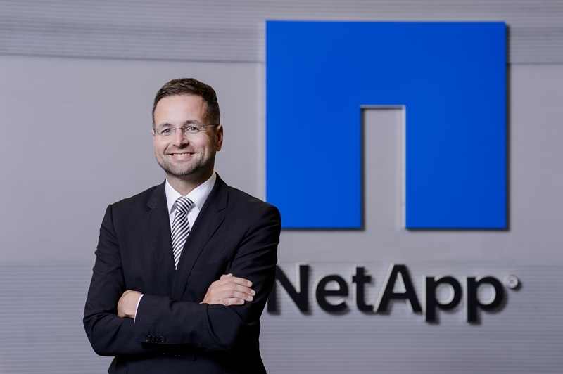 Alexander Wallner, Senior Vice President & General Manager EMEA di Netapp