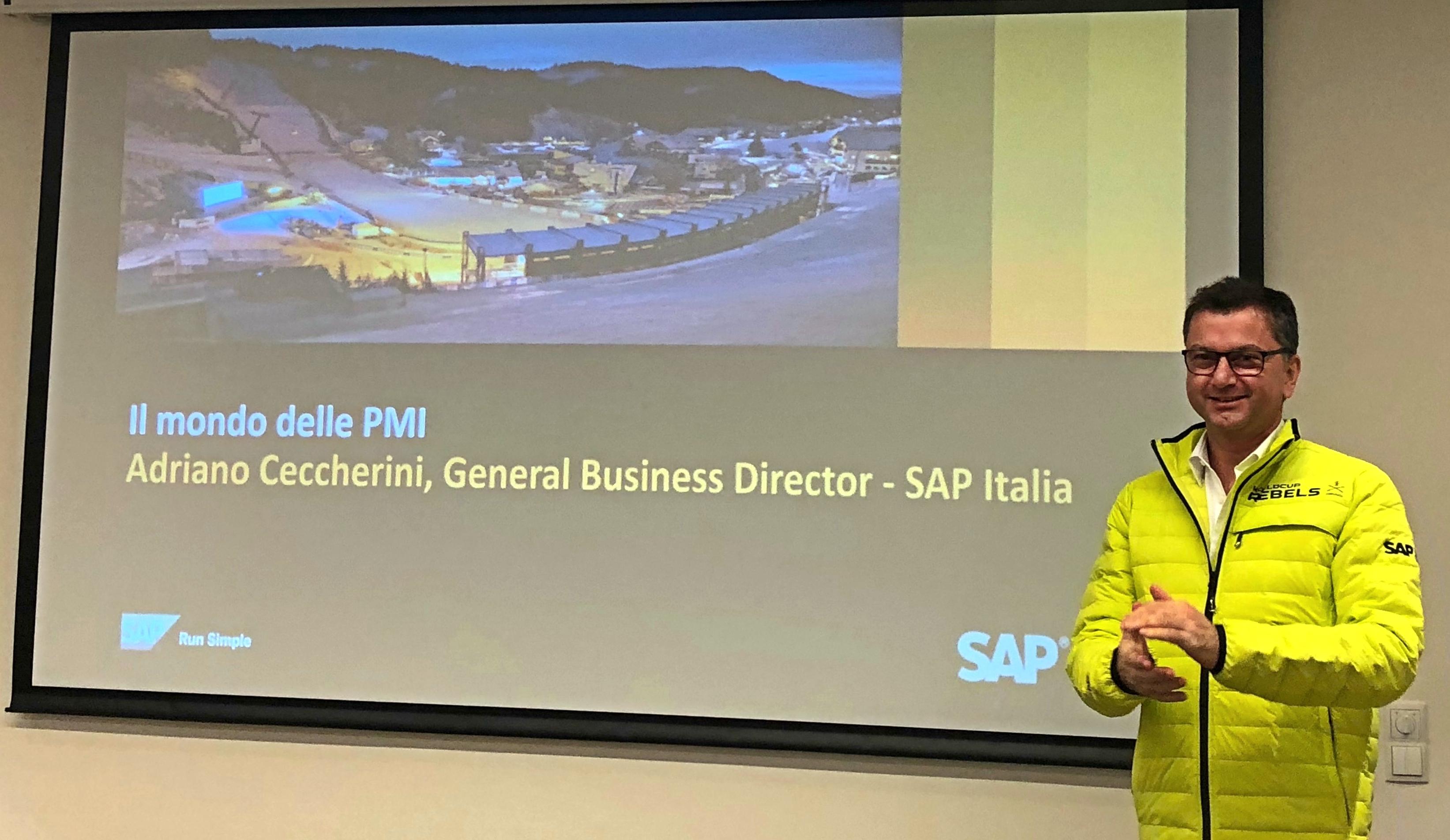 Adriano Ceccherini, SME Sales Director di SAP Italia