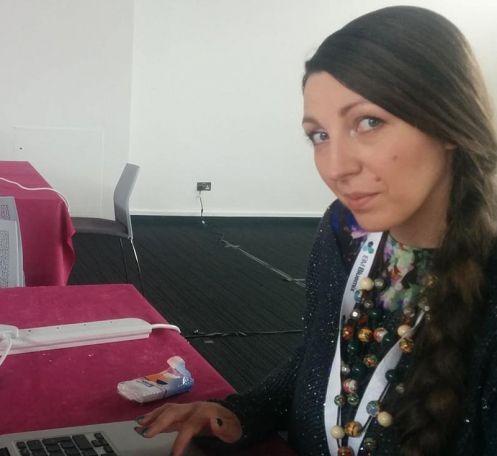 Emilia Ciardi, cofondatrice di Sparkling Labs e designer/developer per Gtech