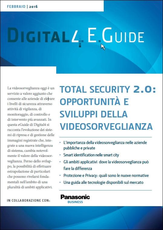 Panasonic - total security 2.0- opportunità e sviluppi della videosorveglianza