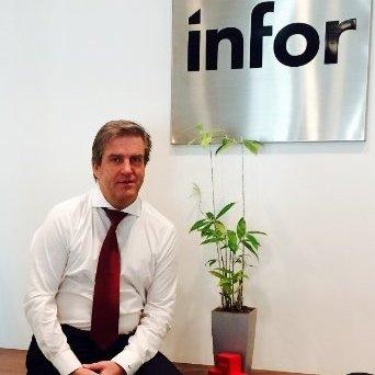 Bruno Pagani, Sales Director di Infor Italia