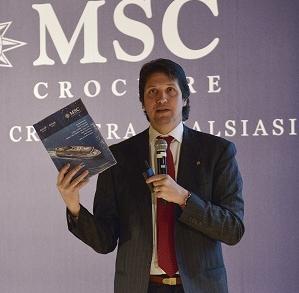 Leonardo Massa, Country manager Italia MSC Crociere