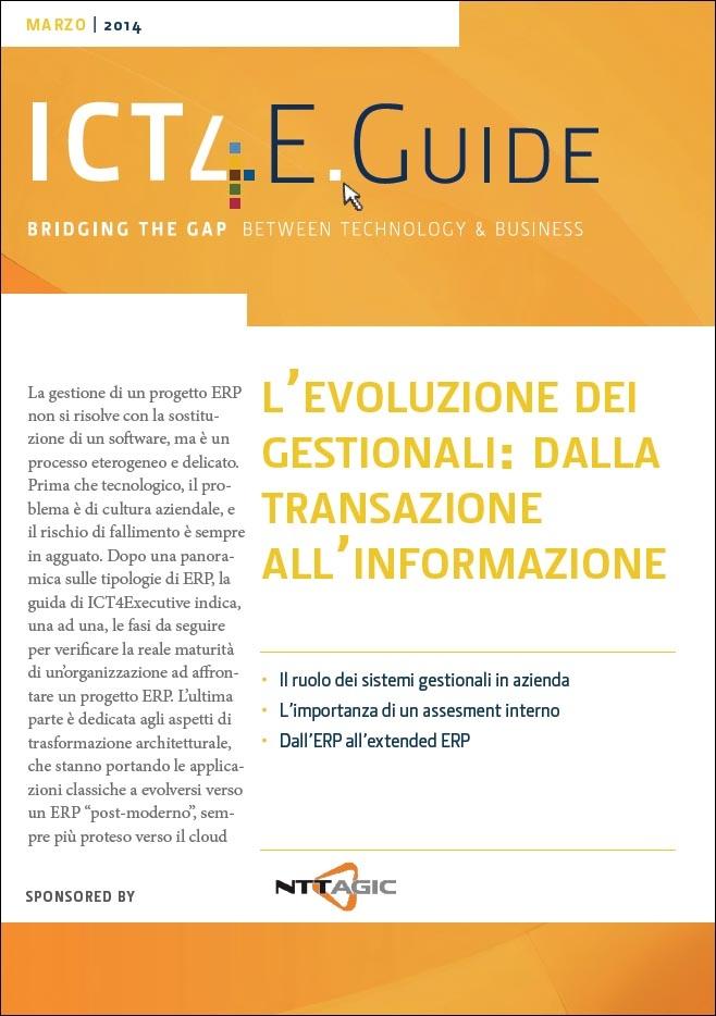 NTTAGIC-L'evoluzione dei gestionali, dalla transazione all'informazione