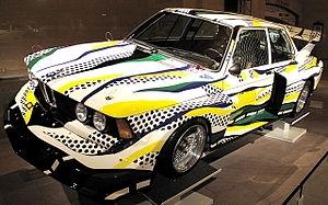 La BMW 320i firmata Roy Lichtenstein