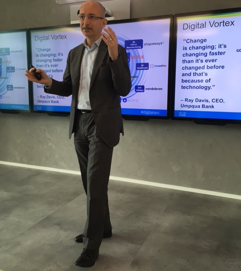 Michele Dalmazzoni, Collaboration e Industry 4.0 Sales Leader di Cisco Italia