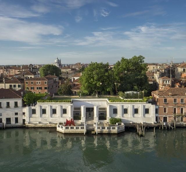 La sede del museo Peggy Guggenheim Collection sul Canal Grande a Venezia