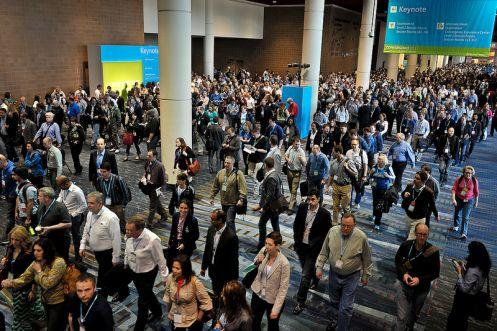 Un momento dell'evento Microsoft Convergence 2013 a New Orleans