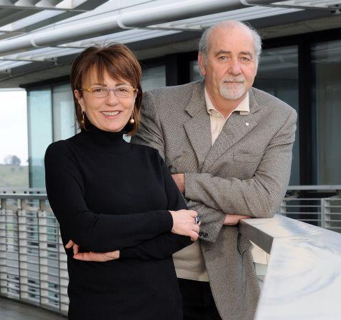Barbara Reffi e Stefano Franceschini, rispettivamente amministratore delegato e presidente di Passepartout