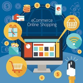 e-commerce - Magazine cover