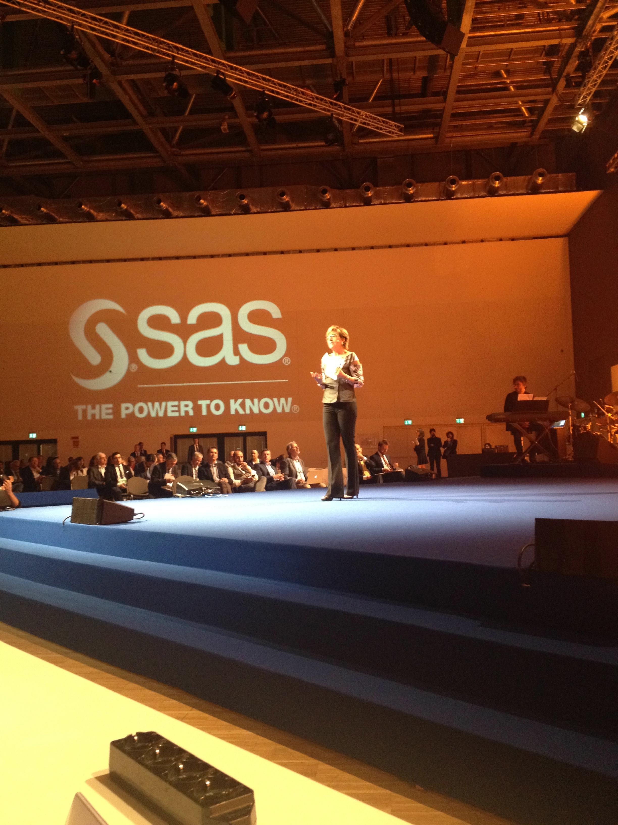 L'apertura del SAS Forum