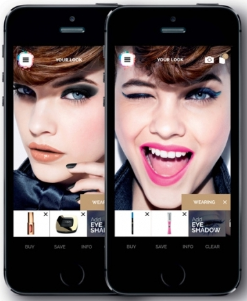 L'app Makeup Genius di L'Oreal