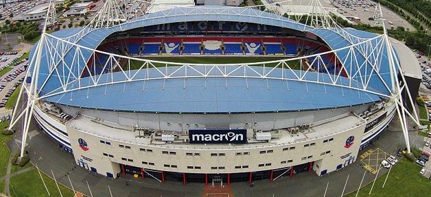 Macron Stadium, sede del Bolton FC