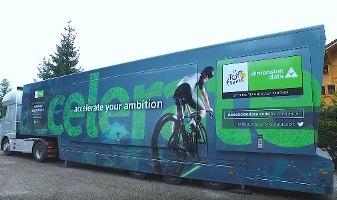 Race Center, il data center mobile di Dimension Data al servizio del Tour de France