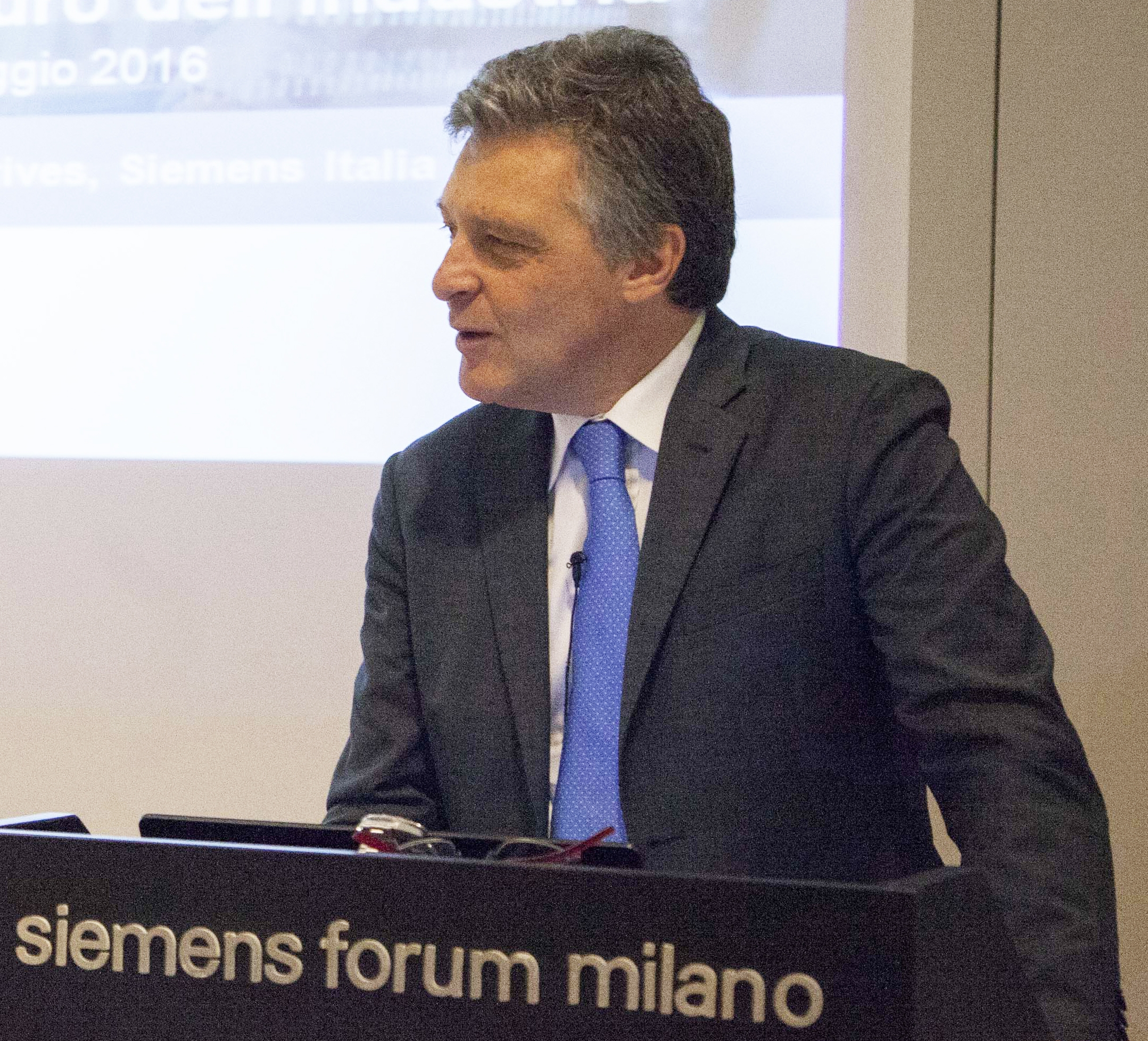 Giuliano Busetto, Country Leader divisioni Digital Factory e Process Industries & Drives, Siemens Italia
