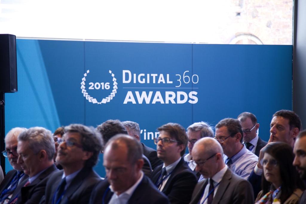 Un momento della presentazione dei pitch per i Digital360 Award