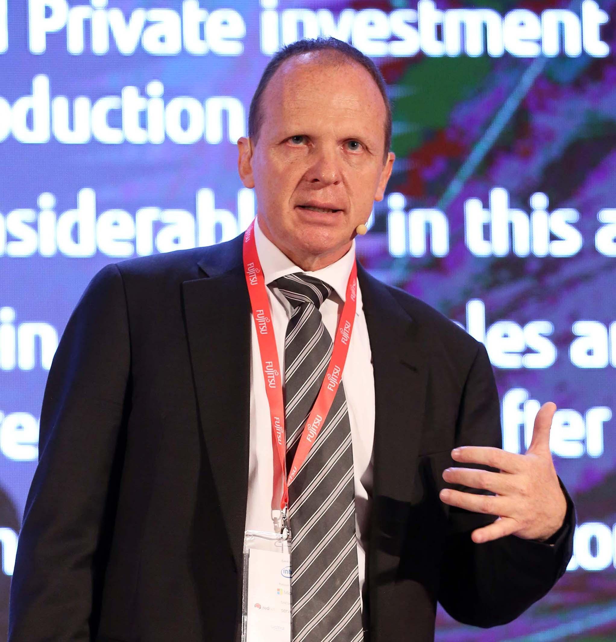 Bruno Sirletti, presidente e amministratore delegato di Fujitsu Italia