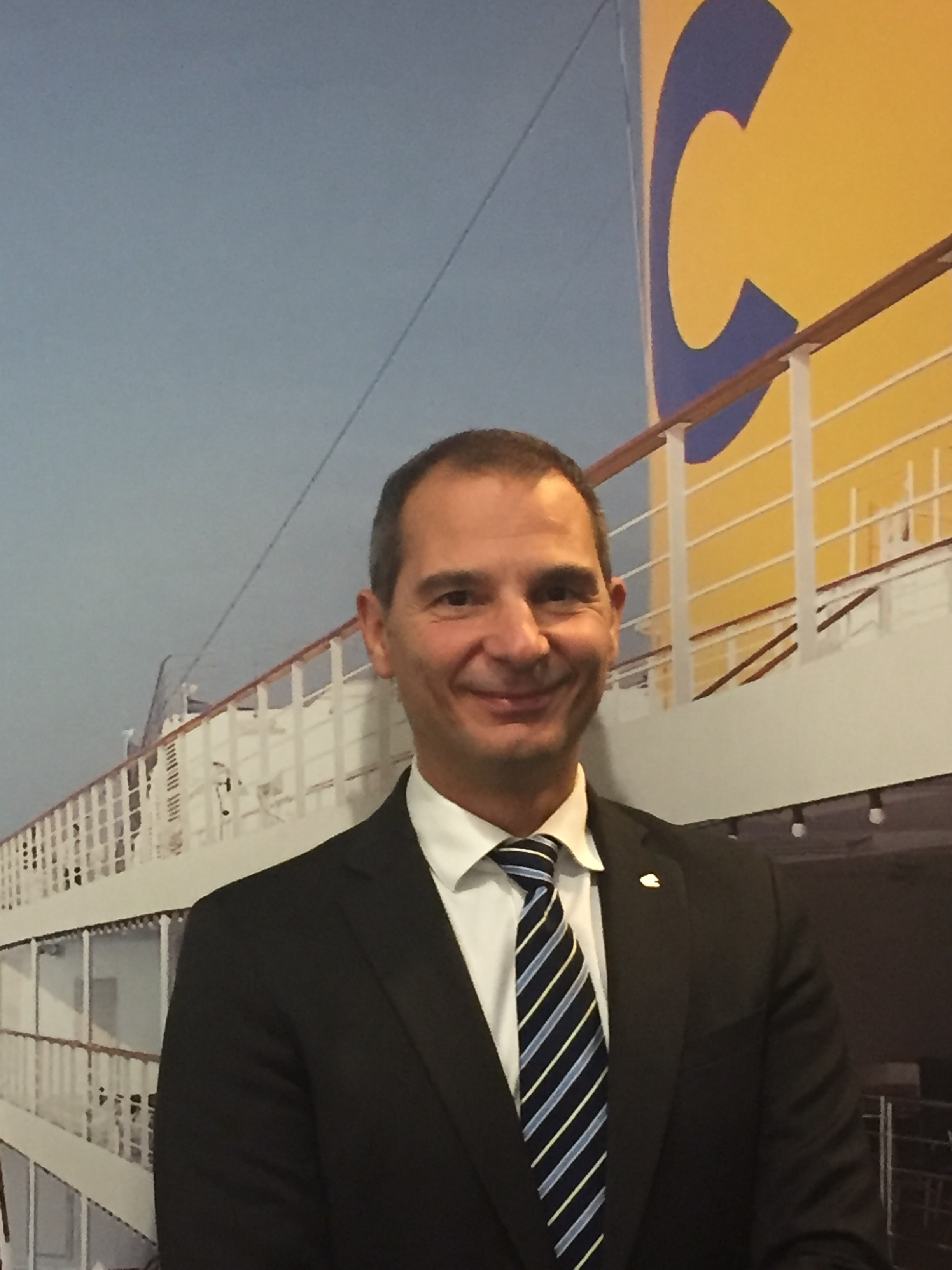 Paolo Tolle, Vice President Human Resources, Costa Crociere