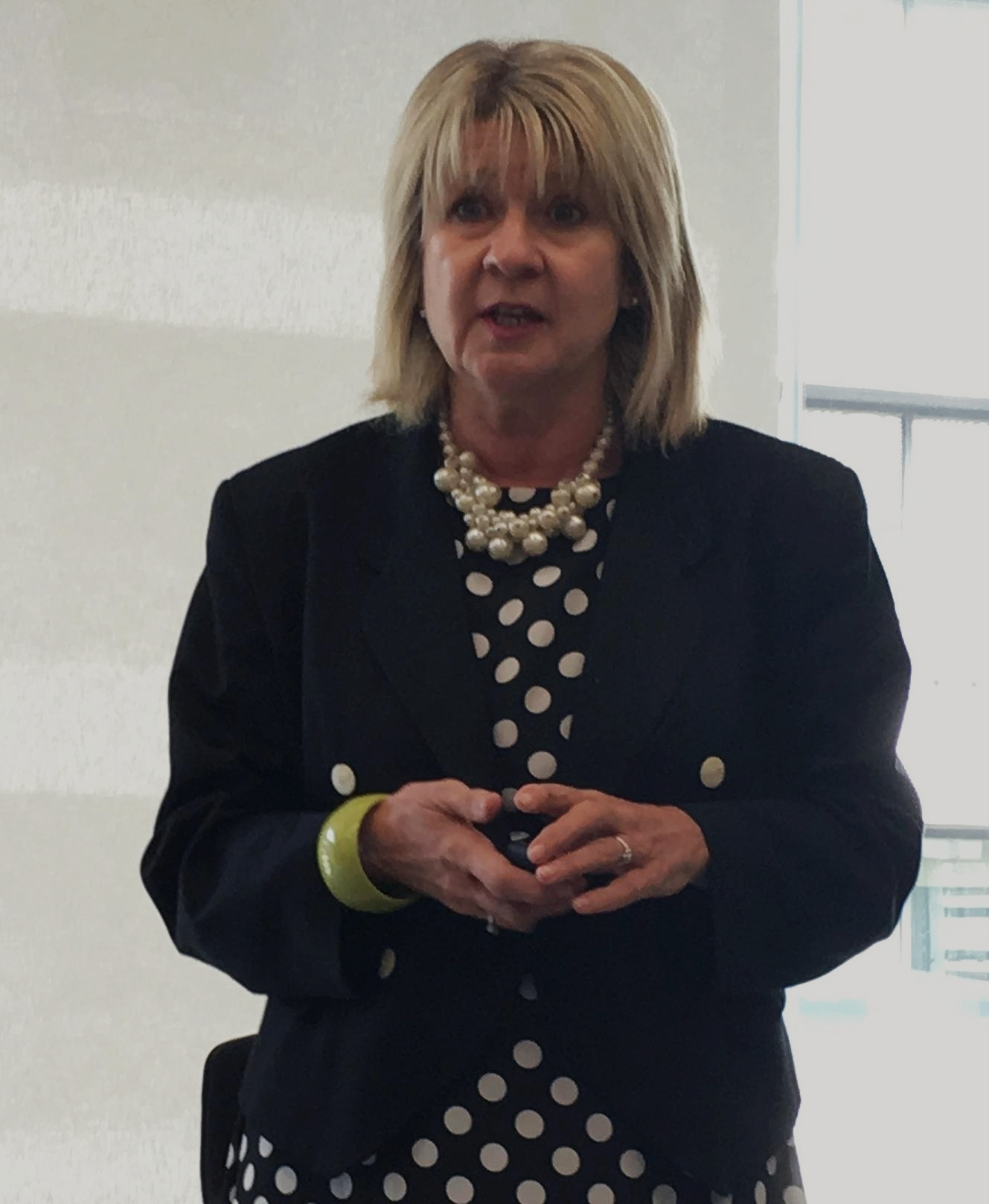 Andrea Eccles, chief executive di City HR Association