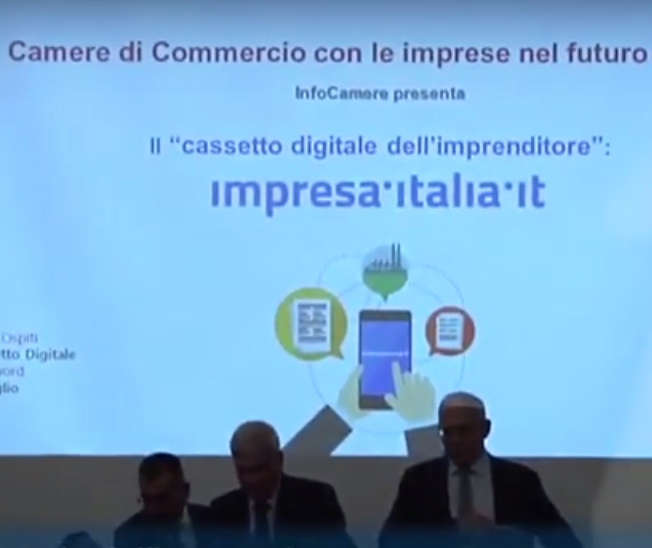 cassetto digitale evento infocamere impresa italia confcommercio