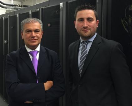Da sinistra Giancarlo Paolini, Responsabile Area Organization/IT, e Marco Cozzi, Responsabile Reparto Information Technology di Hypo Alpe Adria Bank