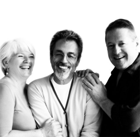 Thierry Rabotin, Giovanna Ceolini e Karl Schlecht