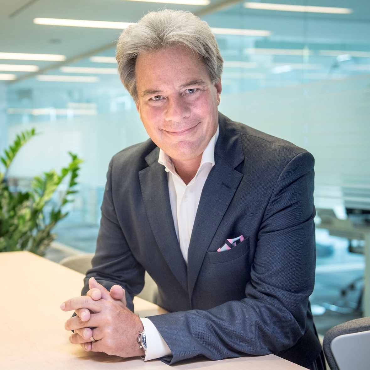 jeffrey Hedberg, Ceo di Wind Tre
