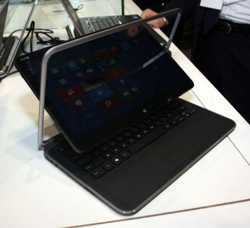 XPS Duo 12 combina in un unico dispositivo un Ultrabook e un tablet dalle alte performance