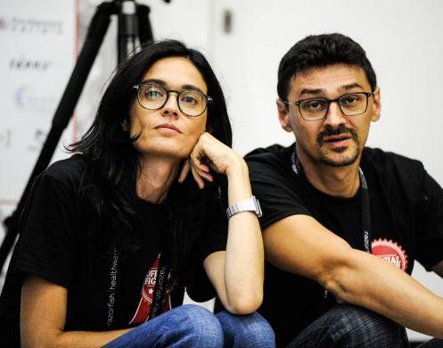 Francesca Fedeli e Roberto D'Angelo, co-fondatori di fightthestroke.org