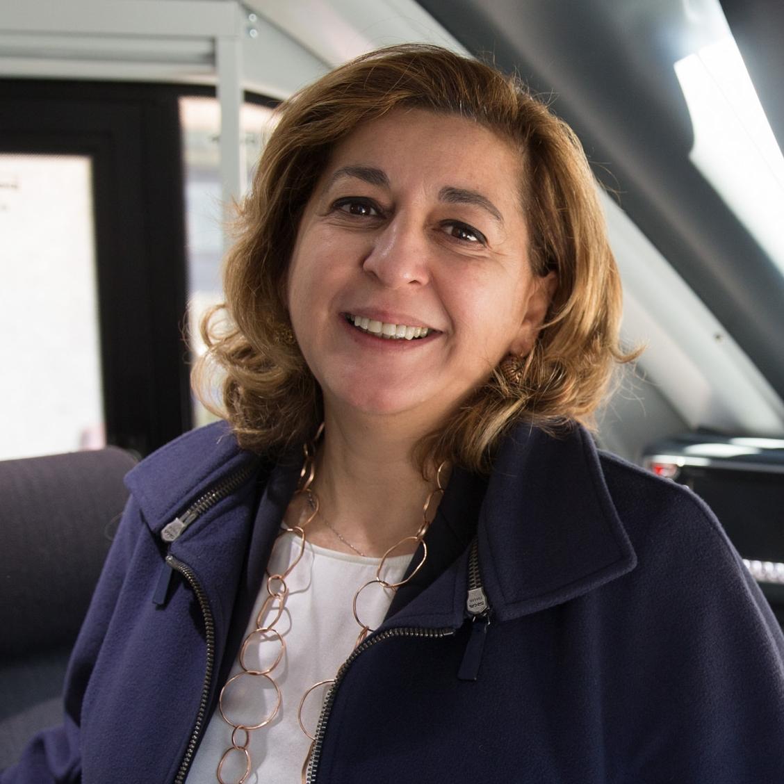 Barbara Morgante, amministratore delegato di Trenitalia