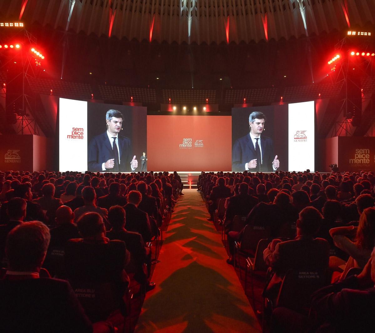 La recente convention di Generali a Roma