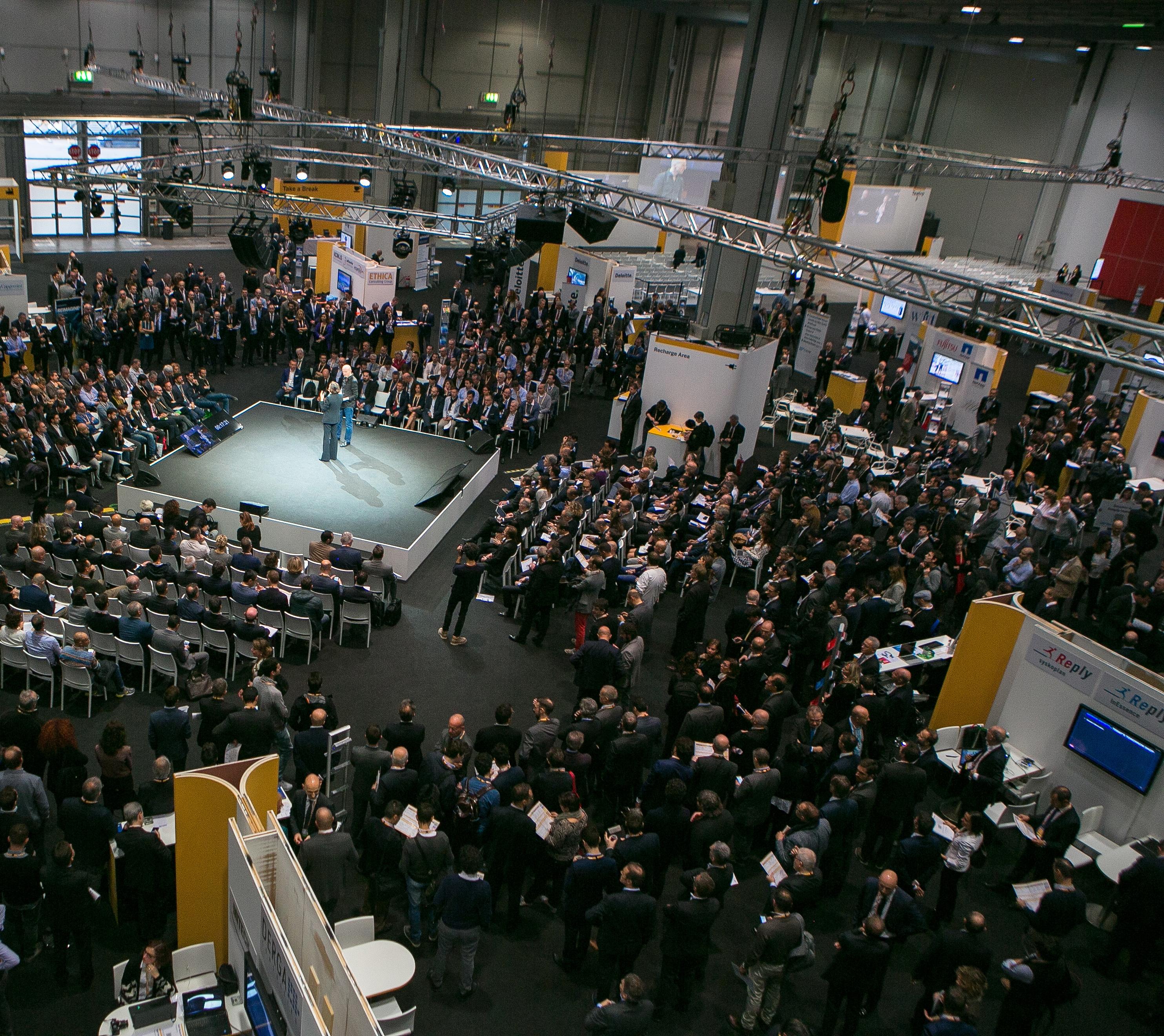 Un momento del SAP Forum 2016 a Milano