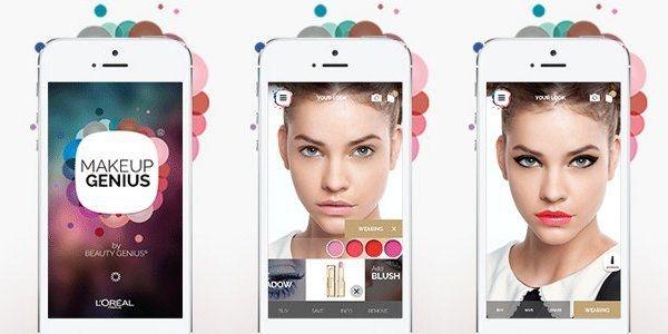 L'App L'Oréal Makeup Genius