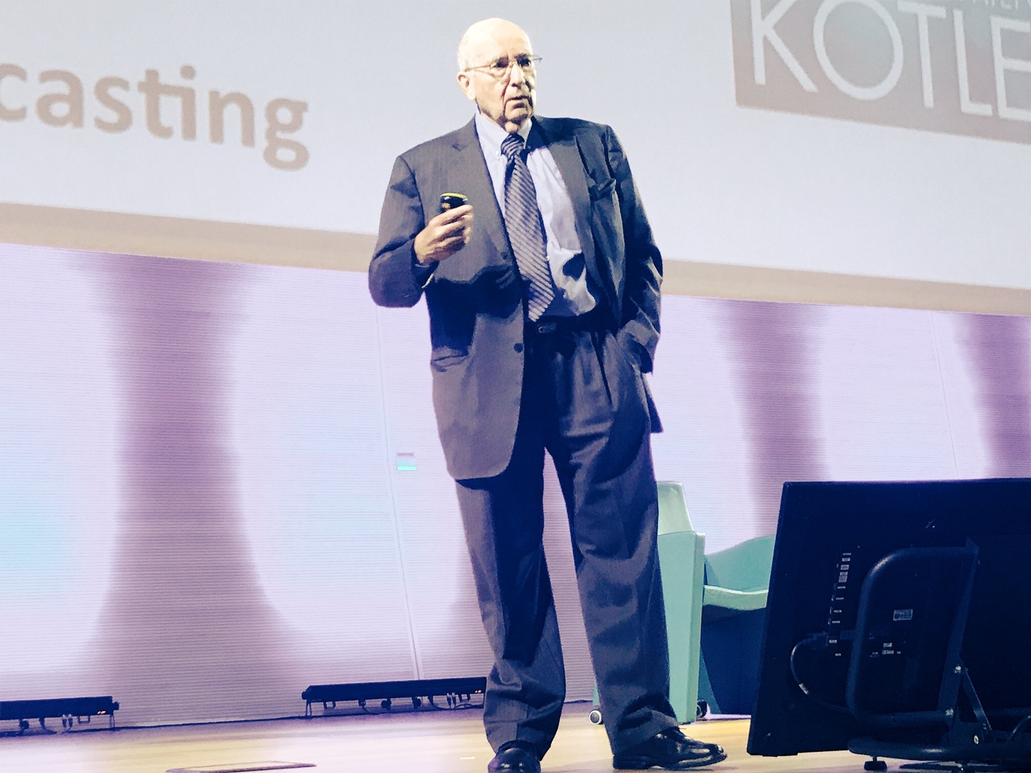 Il guru mondiale del marketing, Philip Kotler