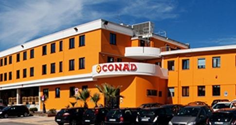 La sede di Monsanpolo del Tronto (AP) di Conad Adriatico ©Conad