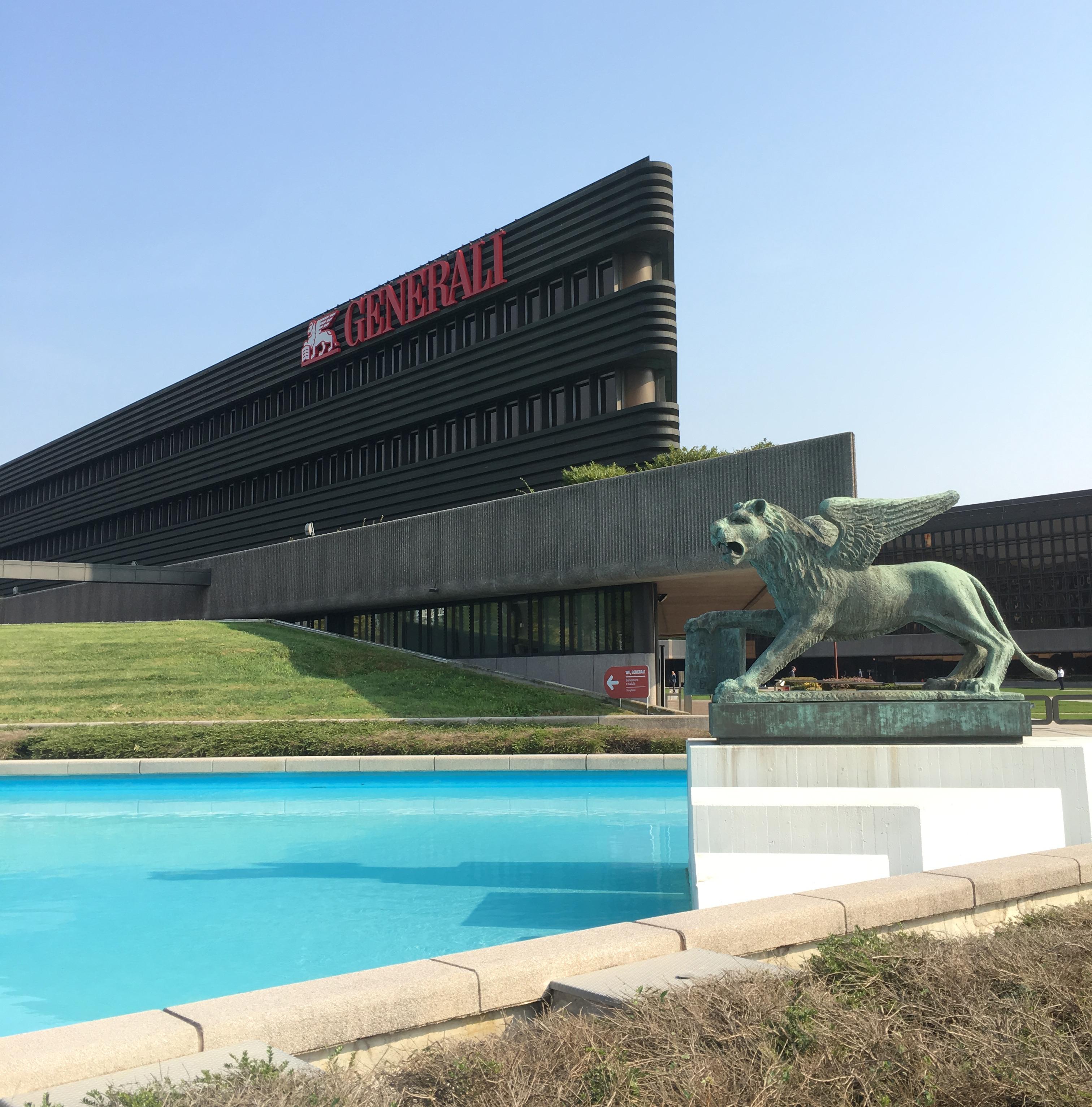 La sede principale di Generali a Mogliano Veneto