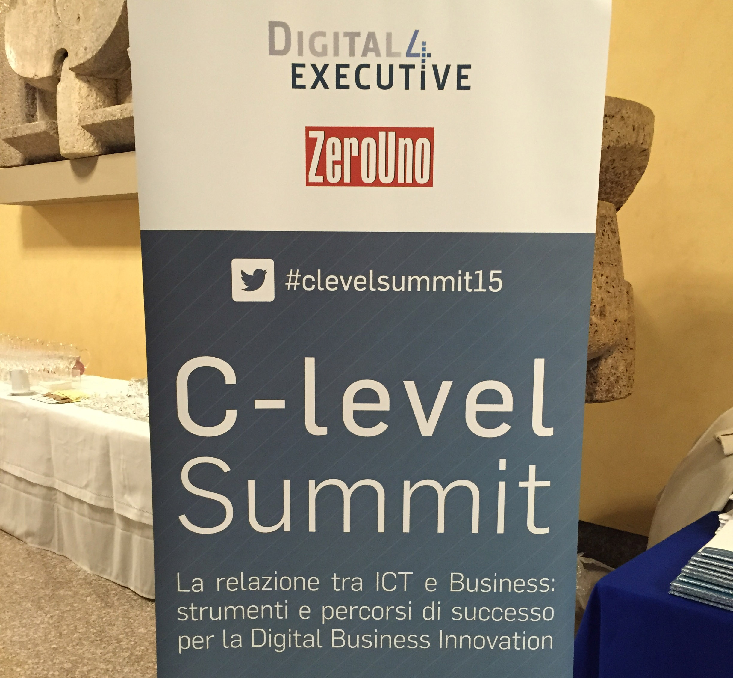 C-level summit digital360 digital4executive zerouno