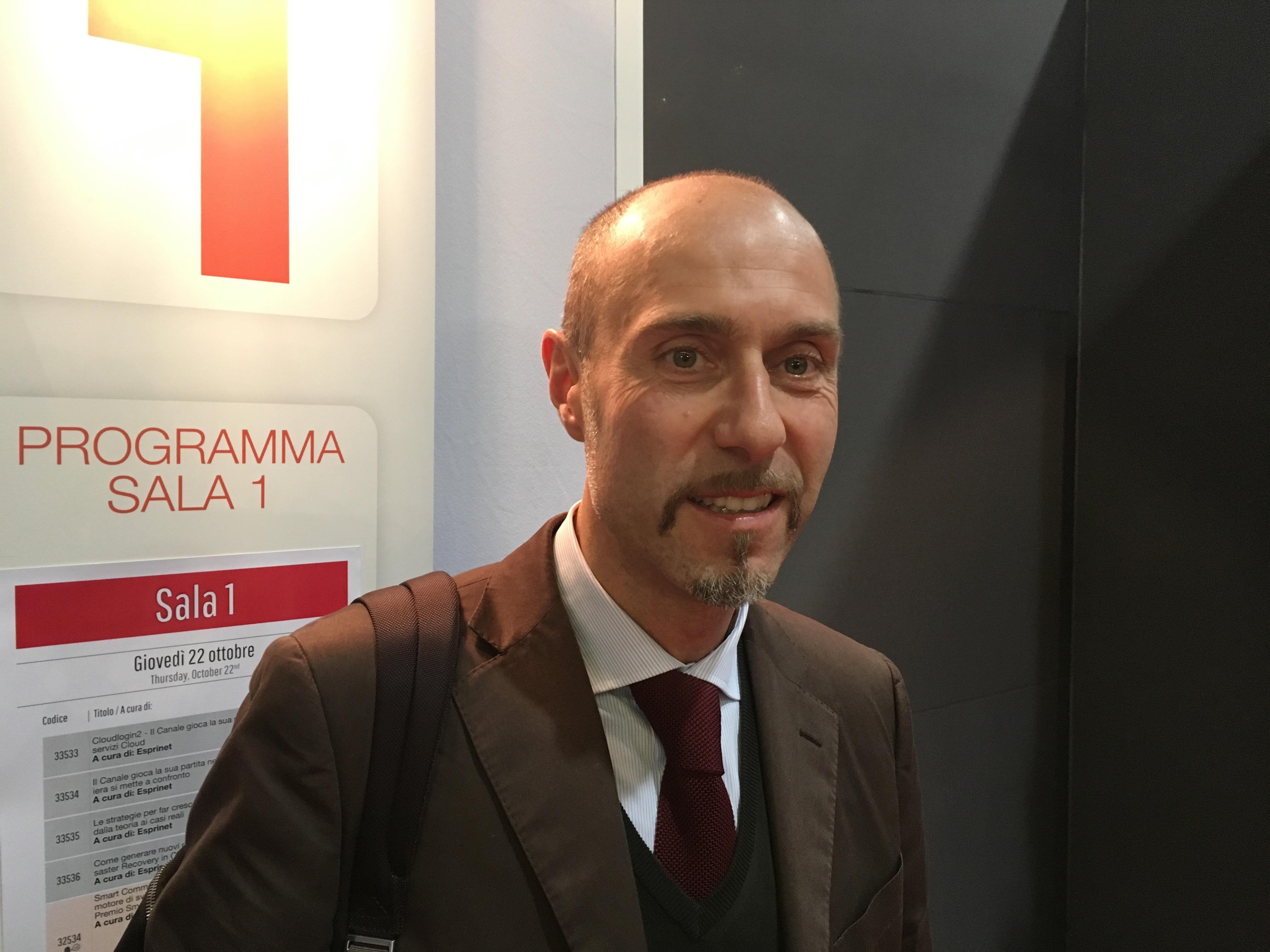 Mauro Bacchiocchi, Sales Director di TI Digital Solutions  Cloud & OTT
