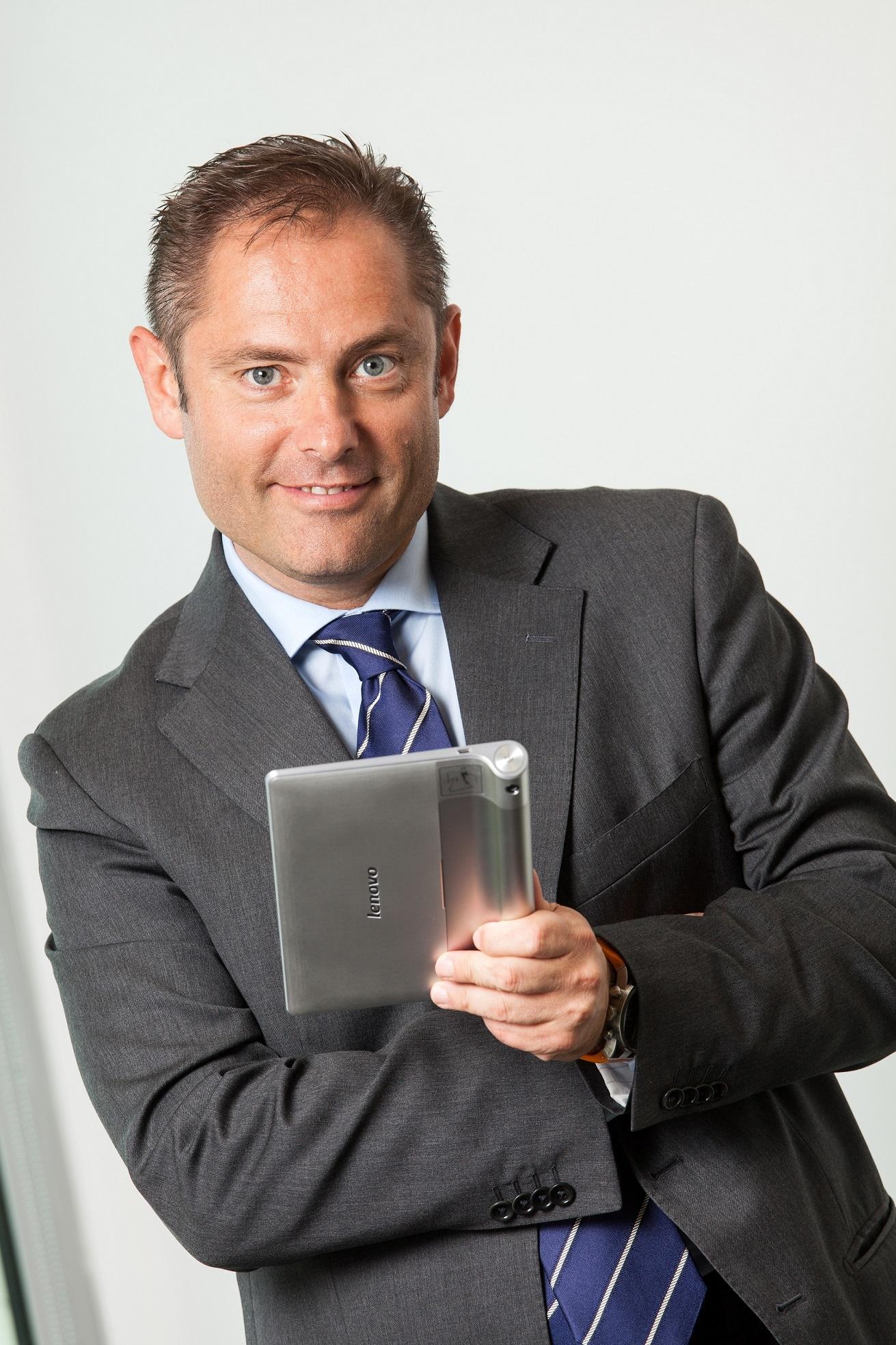 Mirko Poggi, country manager di Lenovo Italia