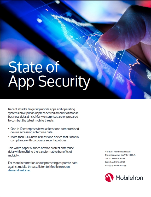 MobileIron -State of App Security