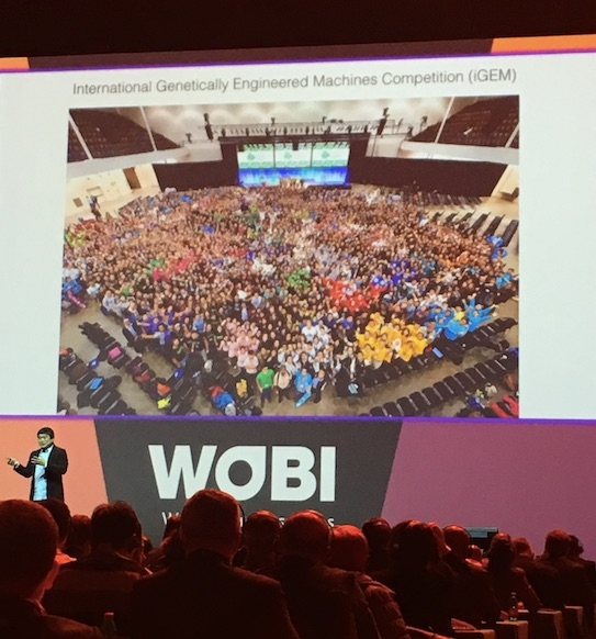 Joi Ito, direttore MIT Media Lab, al World Business Forum