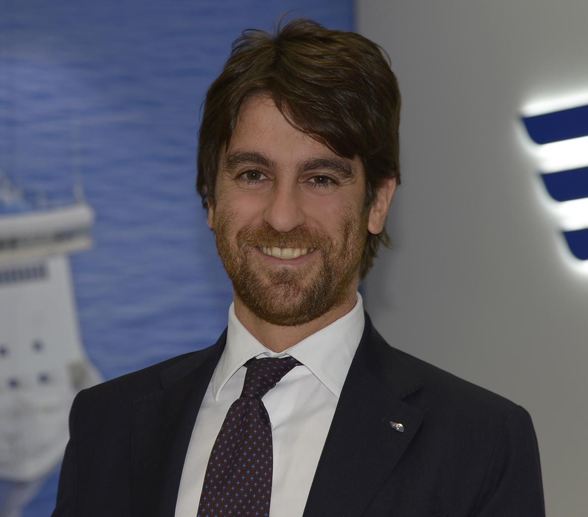 Matteo Catani, Amministratore Delegato di Grandi Navi Veloci (GNV)