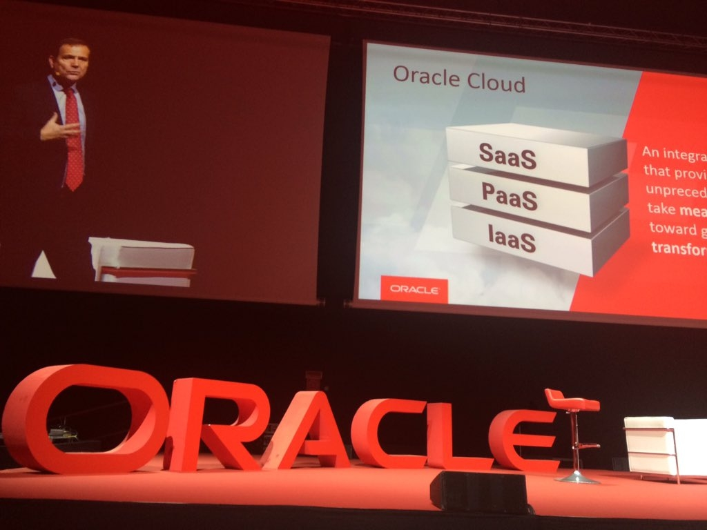 L'intervento di Andrew Sutherland all'Oracle Day 2016 di Milano