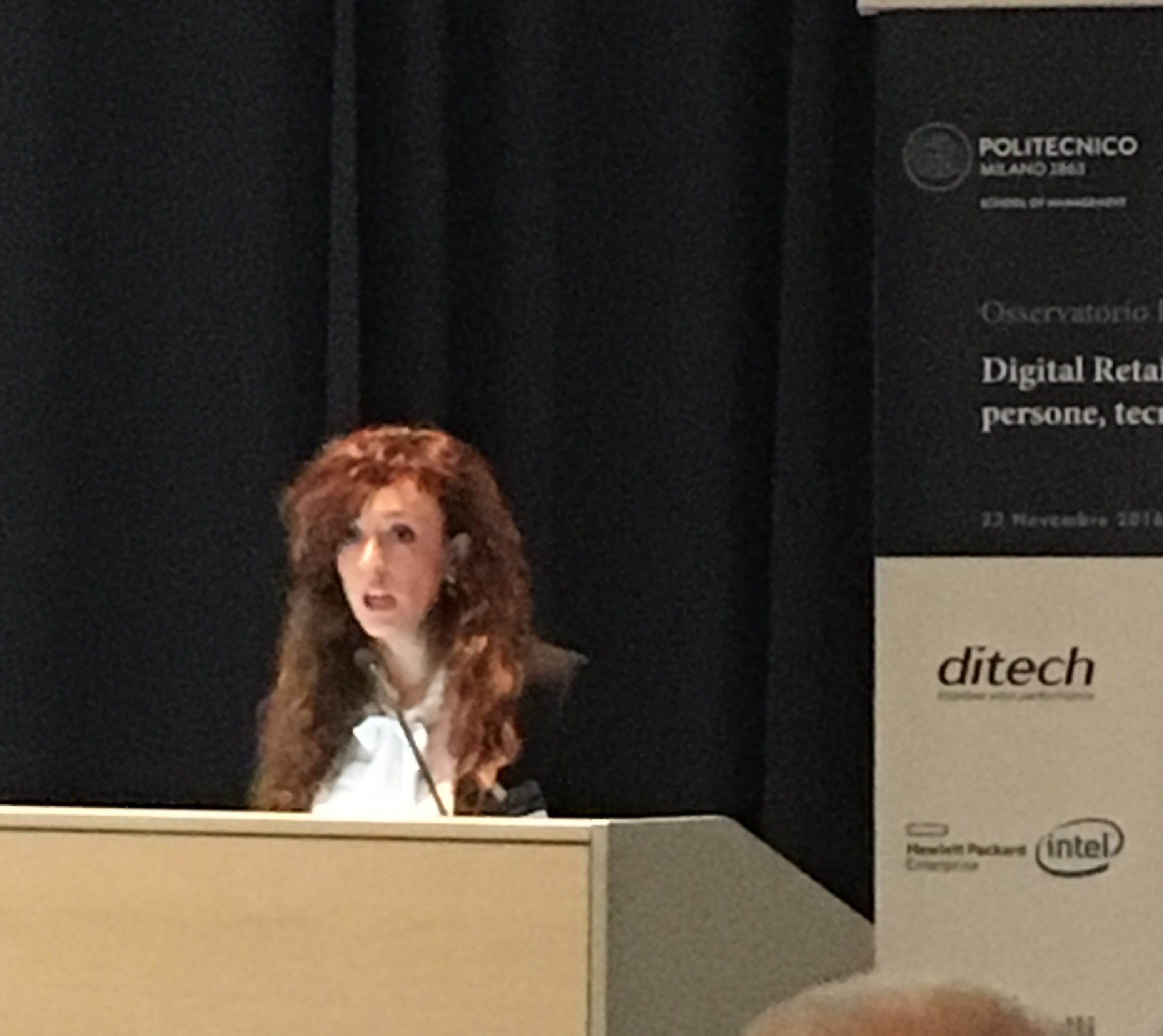 Valentina Pontiggia, Direttore dell'Osservatorio Innovazione Digitale nel Retail del Politecnico di Milano