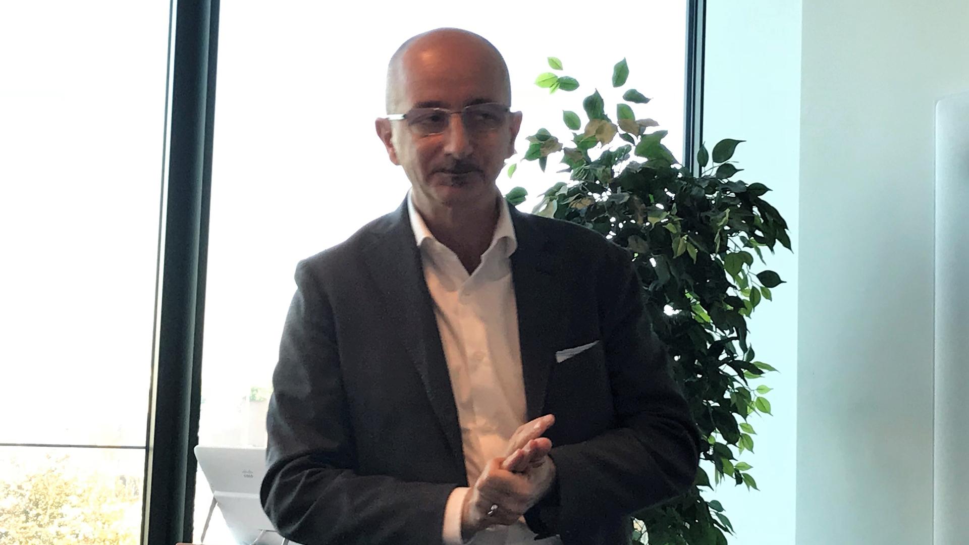 Michele Dalmazzoni, Collaboration & Industry IoT Leader in Cisco Italy
