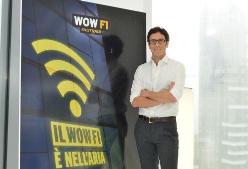Alberto Calcagno, AD di Fastweb