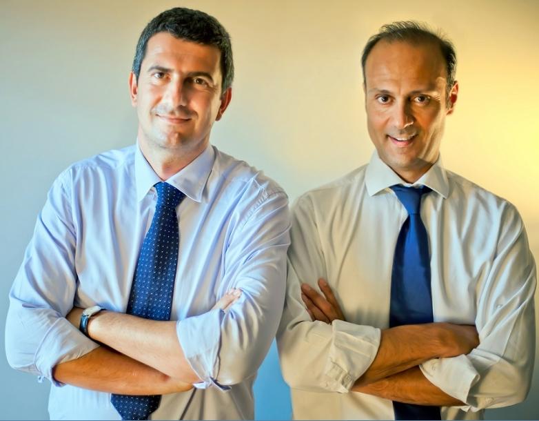 Da sinistra: Paolo Cavicchioli e Sergio Muratori Casali, Fondatori di Doxee