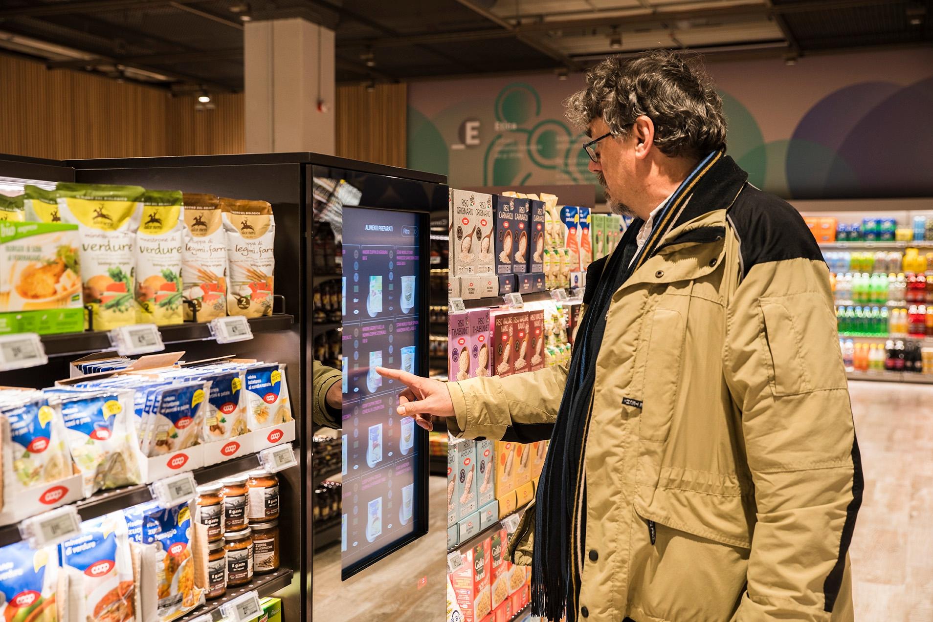 Il supermercato del futuro a realtà aumentata